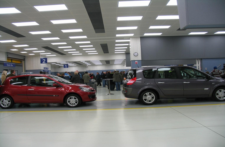 Vehicle Auction Hall, Manheim Car Auctions, Colchester